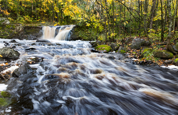 Root Beer Falls - Wakefield, Michigan