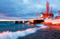 Winter's Eve at Point Betsie