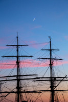Masts and Moonlight - Tall Ships