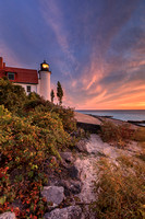 Point Betsie Lighthouse Sunet - SB-220 9Q4A9990-Data
