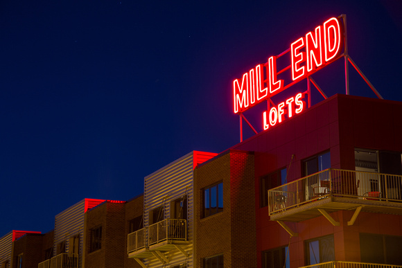 Mill End Lofts - Neon Lights