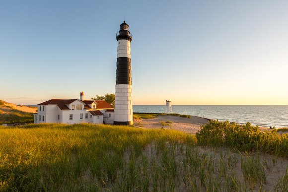craig sterken photography ludington collection big sable point lighthouse golden hour. Black Bedroom Furniture Sets. Home Design Ideas