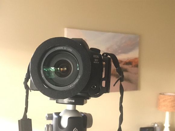 Camera with Filter Holder Adapter