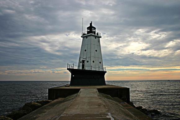 Breakwater Lighthouse at Dusk