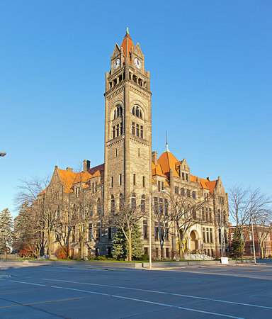 City Hall in Bay City Michigan