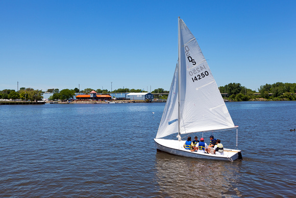 Bay Sail Classes in Downtown Bay City