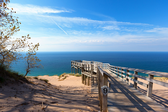 Scenic Overlook #9 - Sleeping Bear Dunes