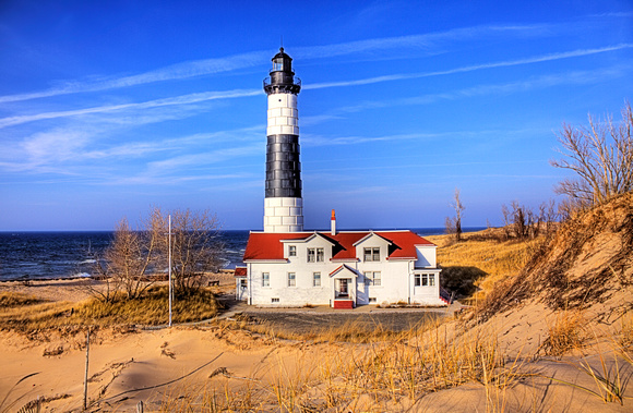 craig sterken photography michigan lighthouses big sable point lighthouse. Black Bedroom Furniture Sets. Home Design Ideas