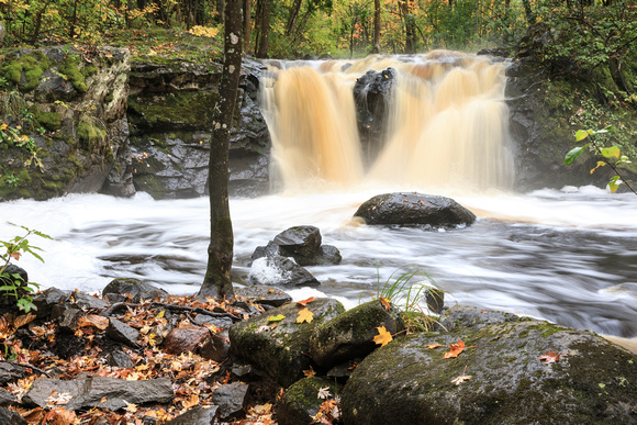 Root Beer Falls in Autumn