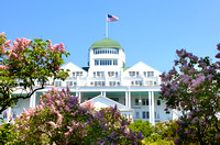 Grand Hotel and Lilacs