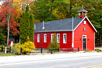 Red School House on M-22