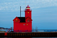 "Holland Harbor Lighthouse ""Big Red"""