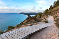 View from Empire Bluffs