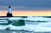 Stormy Day in Ludington