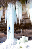 Ice Climber - Grand Island, Lake Superior