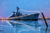USS Edson in Winter