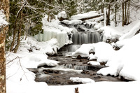 Wagner Falls in Winter