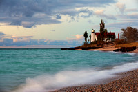 Beacon of Hope at Point Betsie Lighthouse - Frankfort Michigan