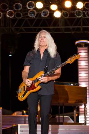 Bass Player, Bruce Hall - REO