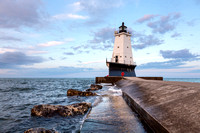 Early Morning on the Ludington Pier